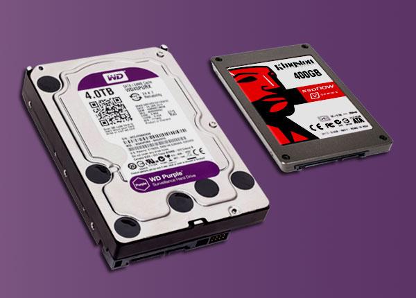 Жесткий диск и SSD