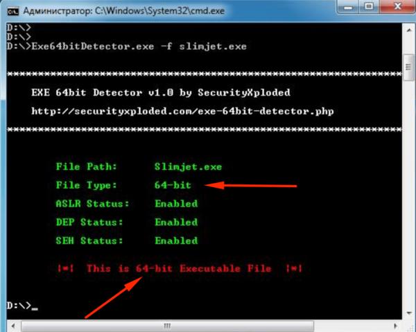Exe64bit Detector