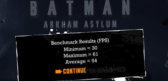 Тест Batman Archam Asylum