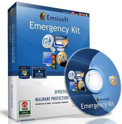 Программа «Emsisoft Emergency Kit»
