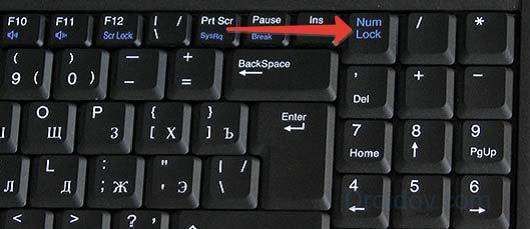 Комбинации клавиш клавиатуры