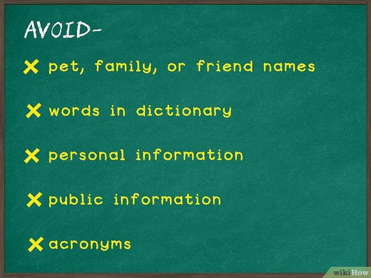 Изображение с названием Create a Password You Can Remember Step 1