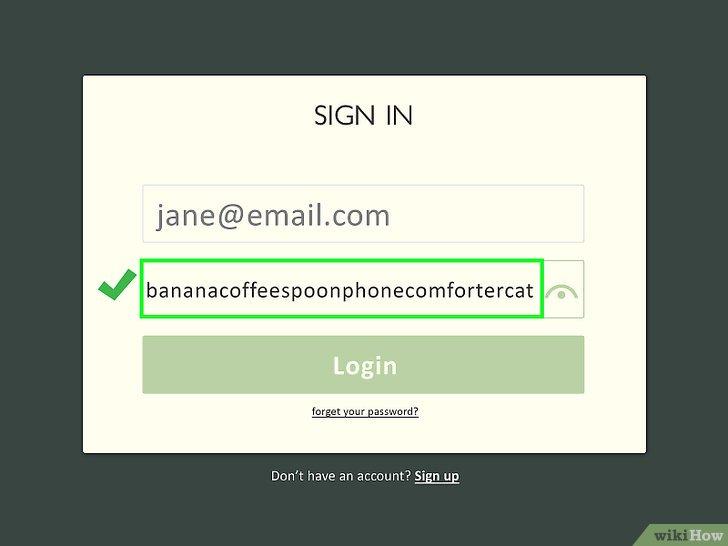 Изображение с названием Create a Password You Can Remember Step 5