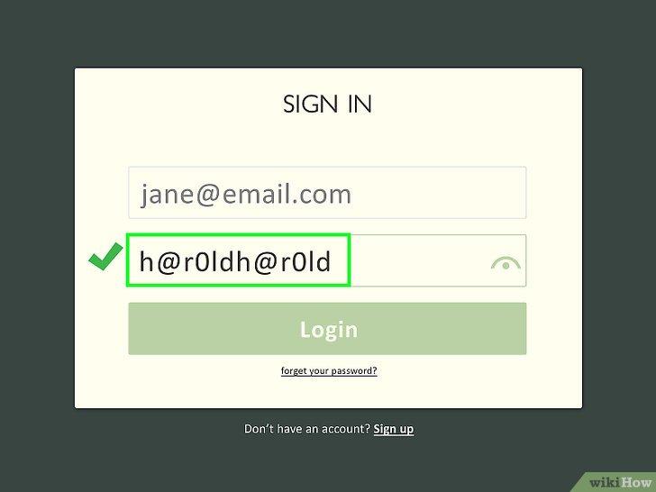Изображение с названием Create a Password You Can Remember Step 9