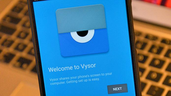 Мобильный клиент Vysor