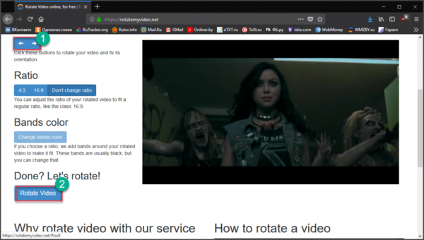 Переворачиваем видео на компьютере. Что нужно делать?