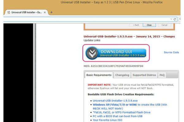 Нажимаем кнопку «Загрузить UUI» или «Download UUI»