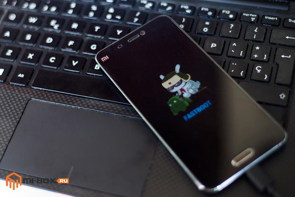 Режим FastBoot на смартфоне Xiaomi Mi5