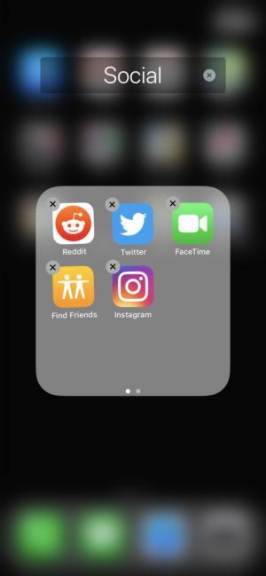 Удалить приложения из iPhone и iPad в iOS 12
