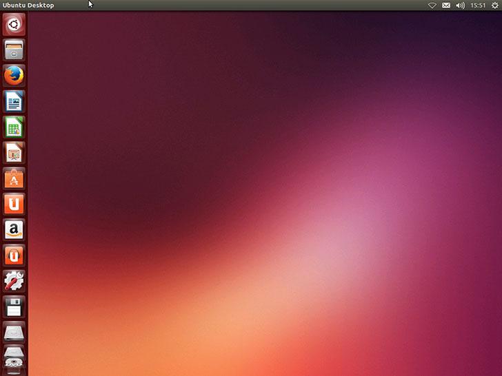 Интерфейс Ubuntu Linux