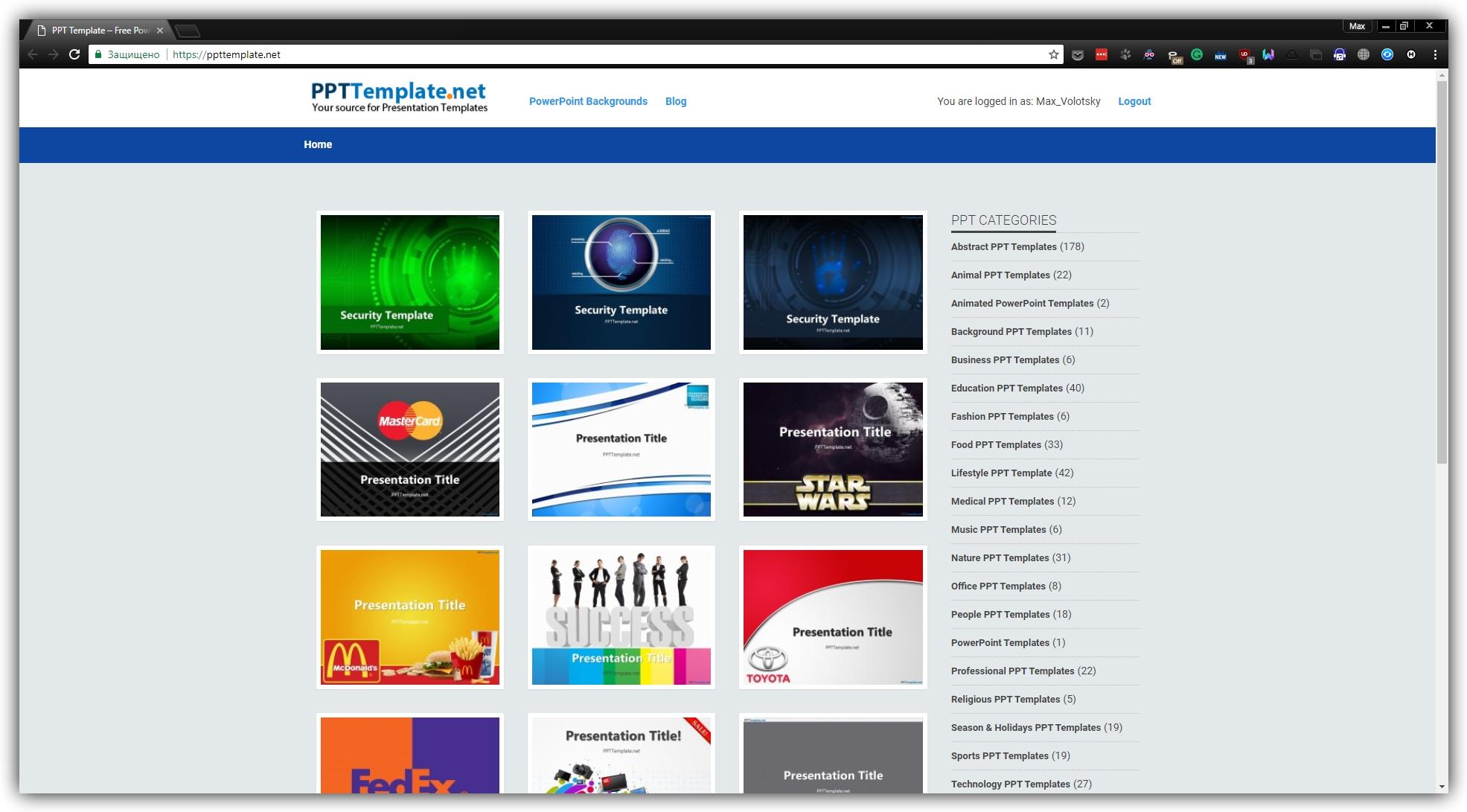 на PPT Template можно скачать бесплатные шаблоны презентаций