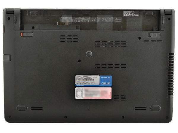 Удаление винтиков на ноутбуке ASUS