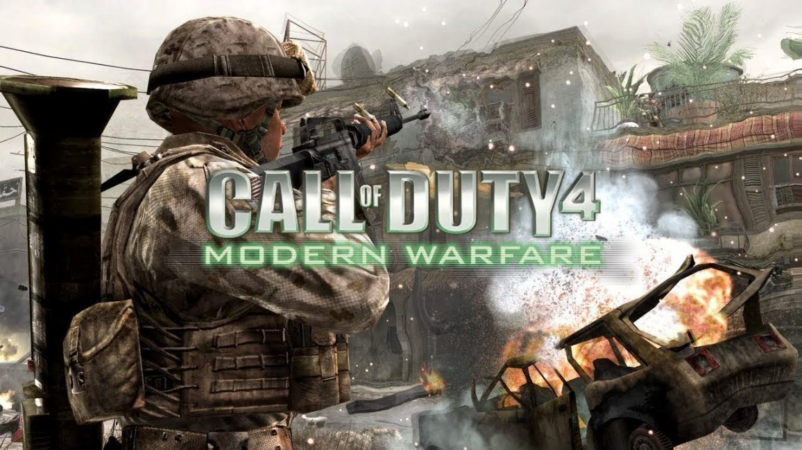 Call of Duty 4 Modern Warfare игры на пк с хорошим сюжетом