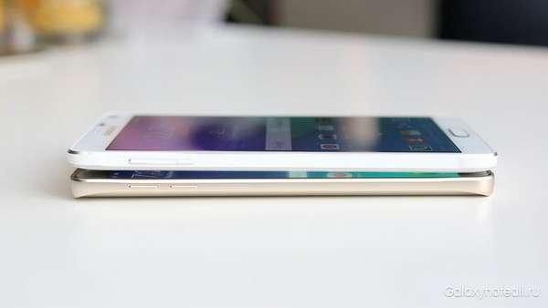 Galaxy Note 5 (нижний) значительно усовершенствовался по сравнению с Galaxy Note 4?