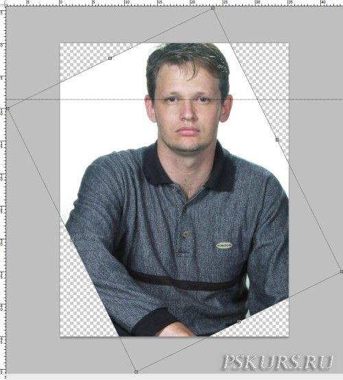 Фото на документы в Photoshop