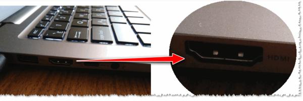 HDMI на ноутбуке