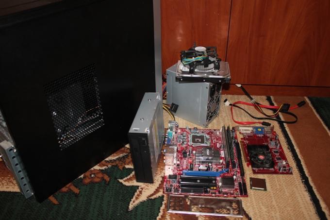 Комплектующие для сборки компьютера своими руками