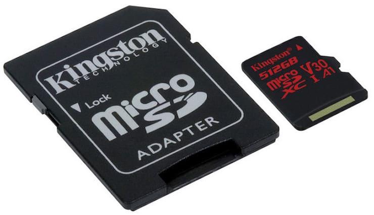 microSD и SD карта адаптер