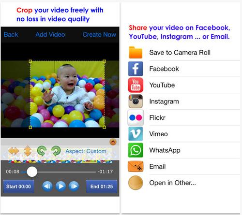 приложения для кадрирования видео