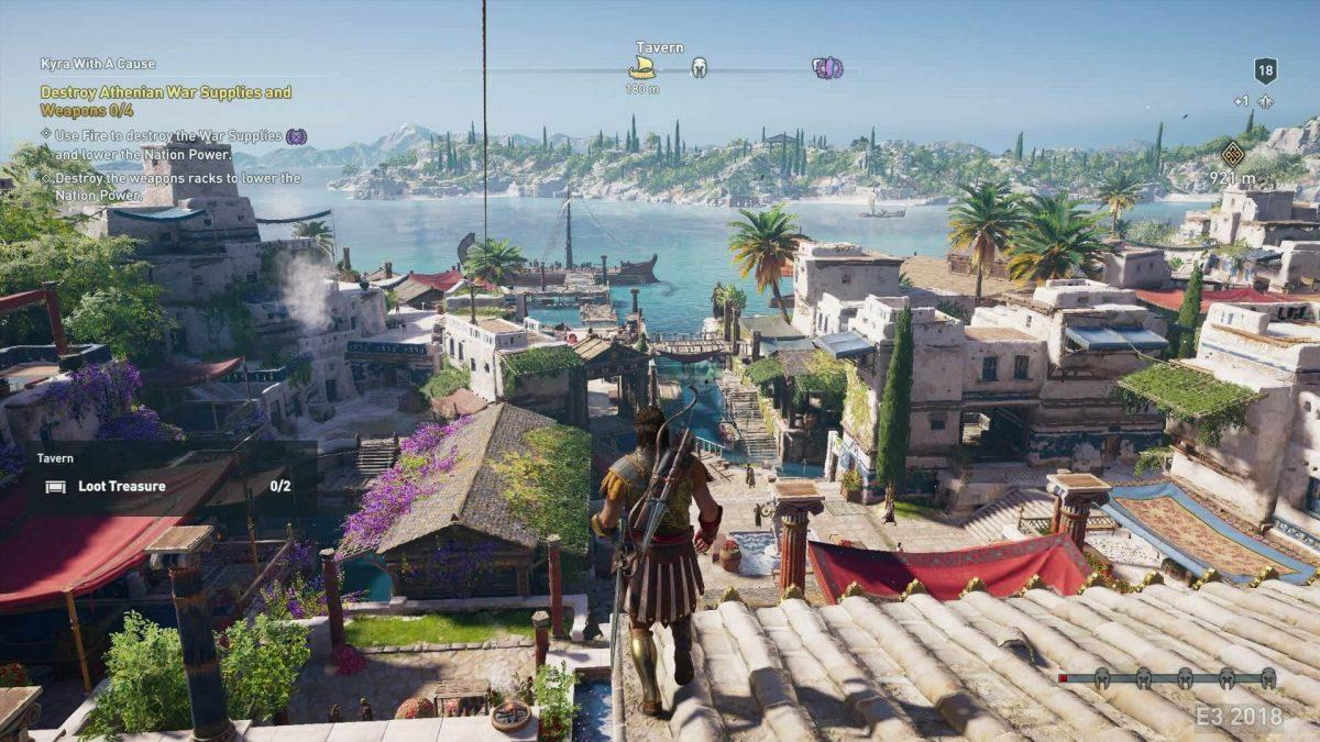 Город в Assassin's Creed Odyssey
