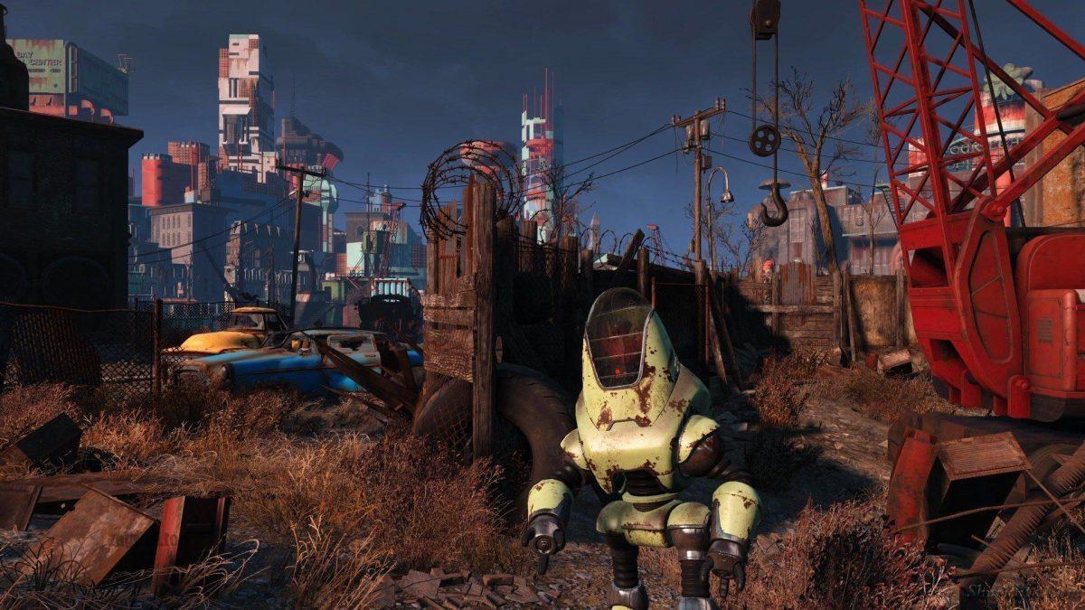Город в Fallout