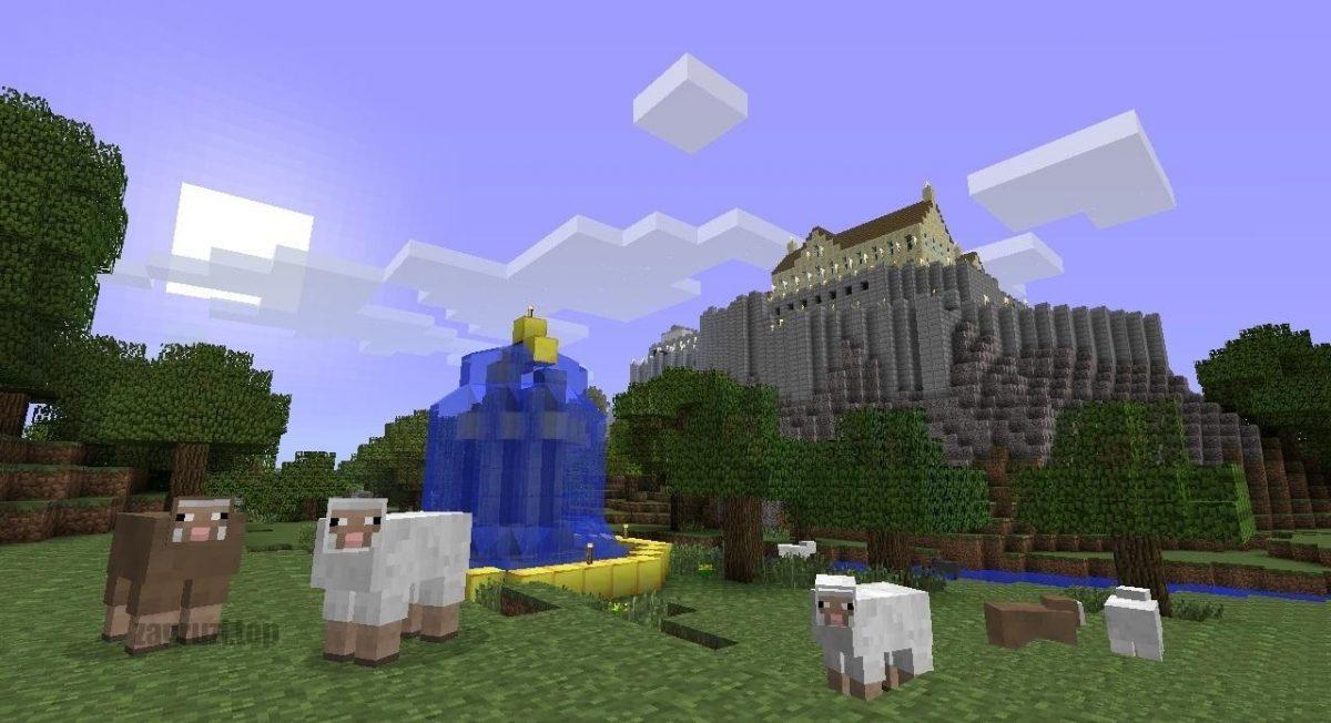 Игровой интерфейс Minecraft