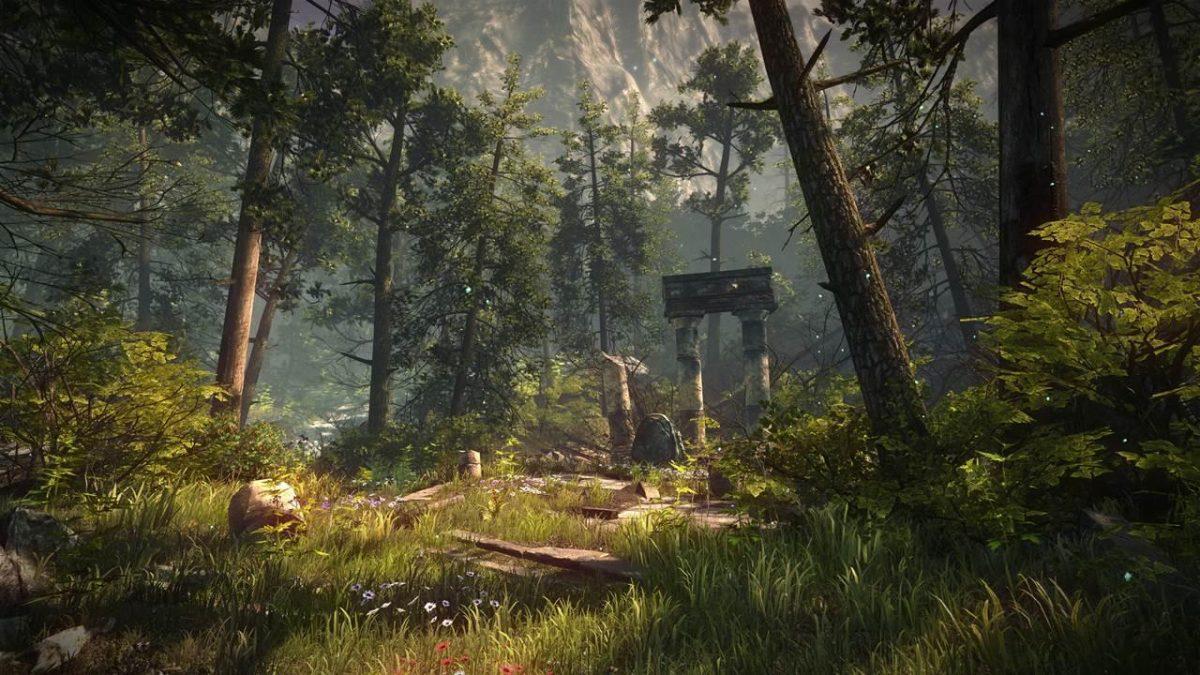 Обелиск в The Forest