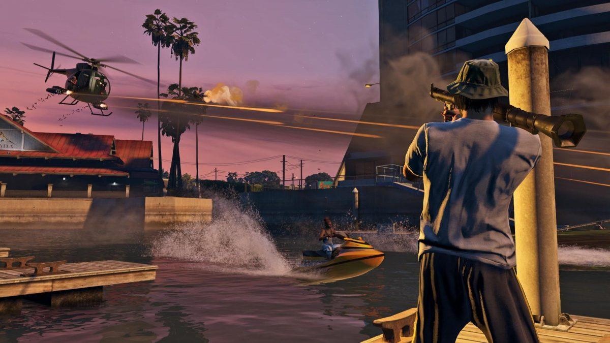Стрельба в Grand Theft Auto 5