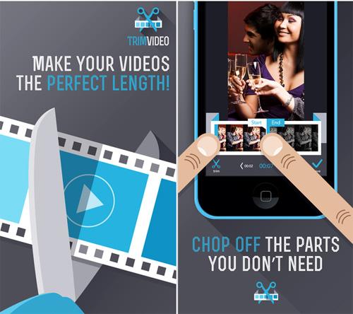 обрезать видео на iphone